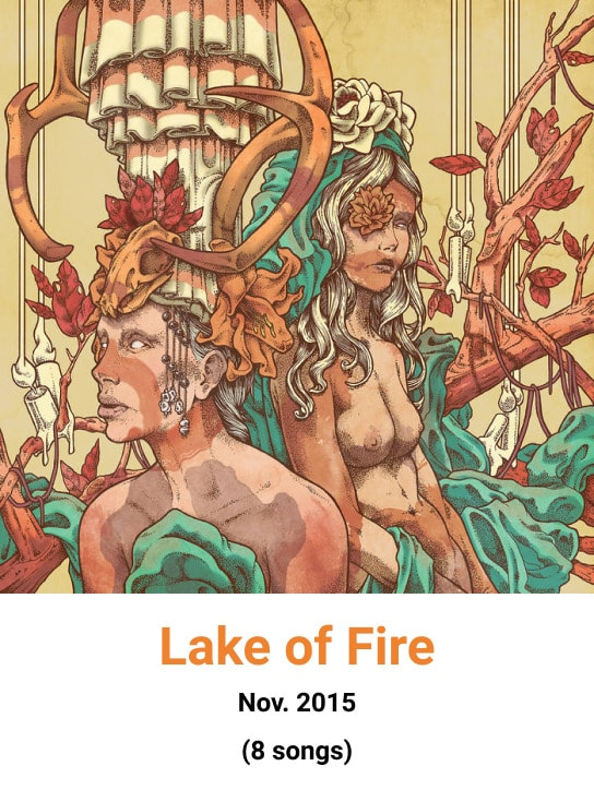 image cover album lake of fire