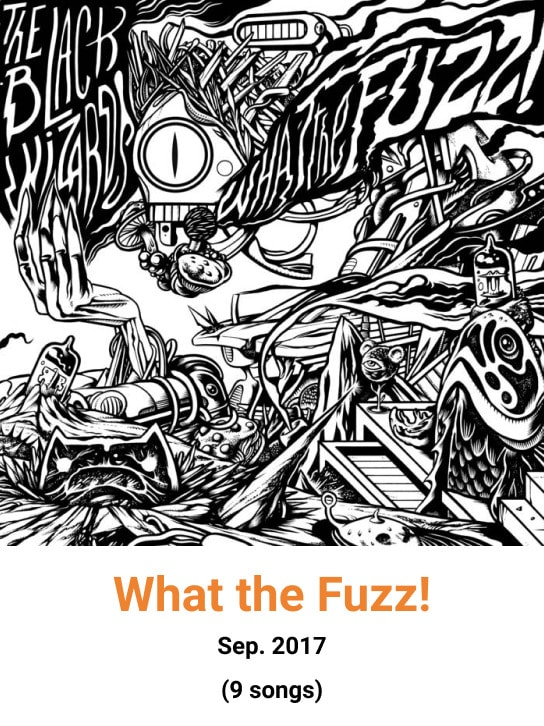 image cover album what the fuzz