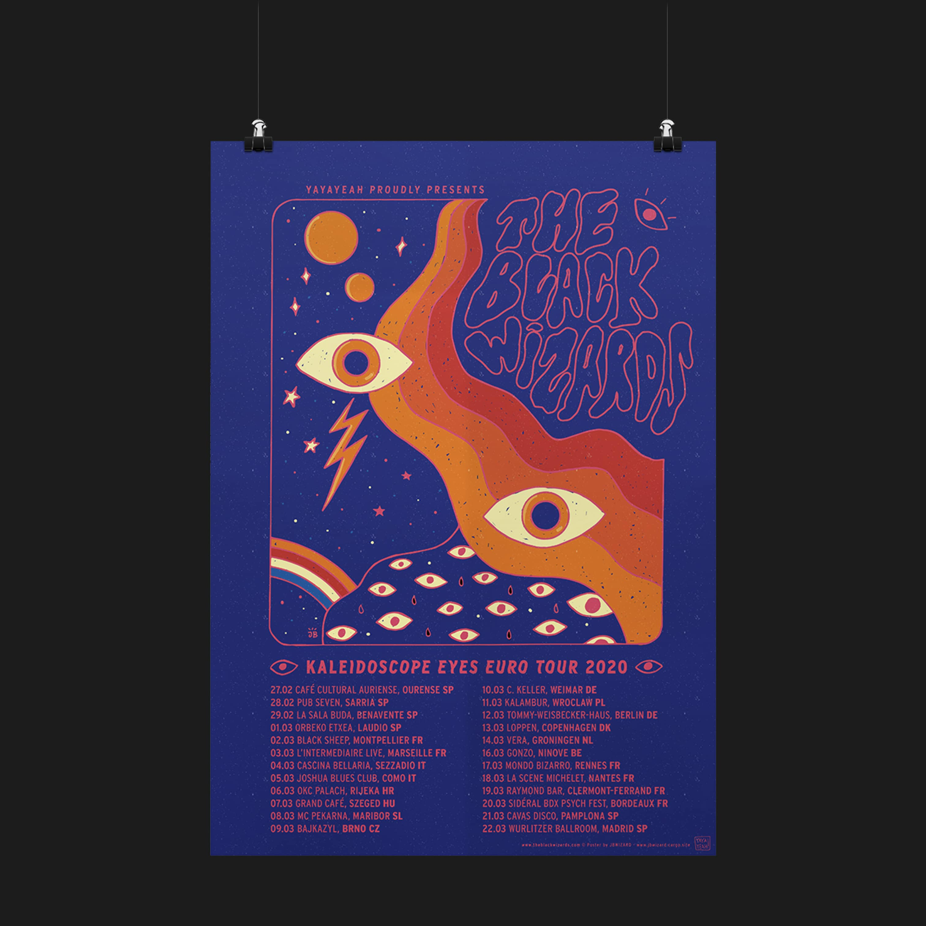 Kaleidoscope Eyes Tour Poster